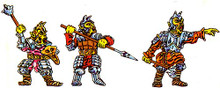 3x Orcs