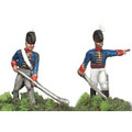 Britain: 2 Royal Horse Artillery Men