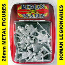 Roman Wars - Roman Legionaries advancing x8 cast figures