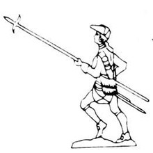18th Century Pikeman advancing