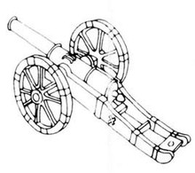 18th Century 6pdr Cannon