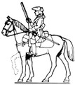 18th Century Cavalry rifle up
