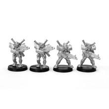 Mishima Samurai (Ronin) - 4 figures