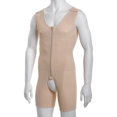 MG02 - Male Body Suit, Above-Knee Length