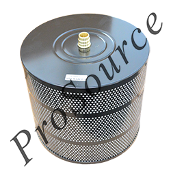 Micron Rating: 10 Collapse Pressure: 3045 psi. Inside Diameter: 1.3 Pleated Microglass Media MAIN FILTER MF0575626 SPECIFICATIONS: 4-inch nominal length Outside Diameter: 3.94