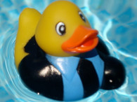 Retro Rubber Duck