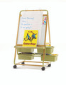 Single Sided Bamboo Teaching Easel BE2