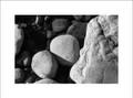 Rock Detail Lochsa River Black & White