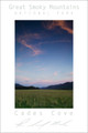 Smoky Mountains Poster - Cades Cove Evening - Color #1