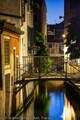 Evening on Canal & Bridge