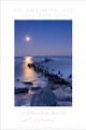 "This poster is from The Sweetwater Seas collection of work From Lake Michigan. It is Richard Mack's favorite beach in Evanston, Lighthouse Beach. It captures the beautiful and winter look from this one location along Lake Michigan. This stunning 24""x36"" print is done on archival paper and ready to frame. Also available in 18x24"" size."