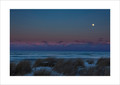 A fine art print from The Sweetwater Seas / Great Lakes collection of moonrise and dunes over Lake Michigan on New Year's Eve 2017.  Available in several sizes and finishes.