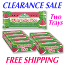 Watermelon Coconut Bars TWO 24 ct Trays
