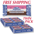 Coconut Bars                  TWO  24 count trays