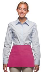 Three Pocket Waist Apron w/ Embroidery Friendly Side Pockets #100E