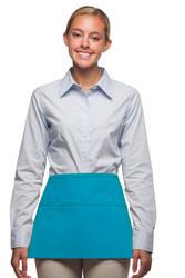 Three Pocket Waist Apron w/ All Pockets Embroidery Friendly #100XW