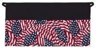 American Flag Print Three Pocket Waist Apron #FG100