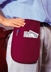 Waistband Money Pouch w/ Ties