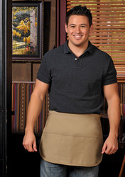 XL Rounded Three Pocket Apron #180XL