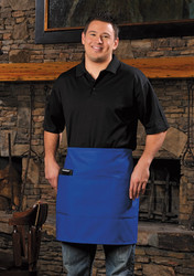 Three Pocket Half Bistro Apron #401113