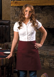 Two Patch Pocket Half Bistro Apron #115
