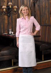 Full Bistro Apron w/ Center Divided Pocket #128