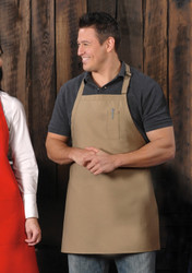 Bib Apron w/pencil pocket