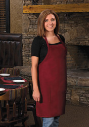 2-Patch Pocket Bib Apron