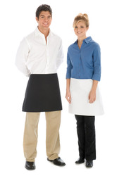 Black 4-Way Folded Kitchen Apron