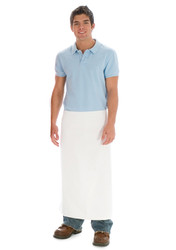 Long Folded Kitchen Apron