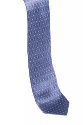 Silk Necktie w/ Box Print