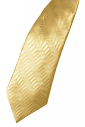 Herringbone Long Tie