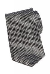 Silk Link Print Long Tie