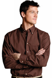 Men's Poplin Shirt (Button-Down)