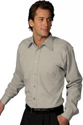 Men's Poplin Shirt (Point Collar)