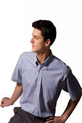 Men's SS Pinpoint Oxford Shirt