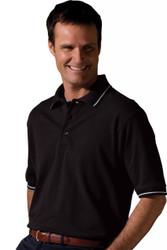 Men's SS Pique Polo Shirt (Tipped)