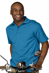 Men's SS Plaited Performance Polo