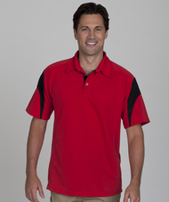 ECOTEC100 SS Men's Polo Shirt (Accents)