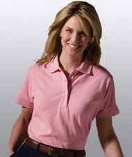 Women's SS All Cotton Pique Polo