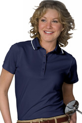Women's SS Dry-Mesh Performance Polo