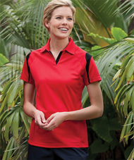 ECOTEC100 Women's SS Accented Polo