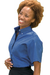 Women's SS Easy Care Oxford Shirt