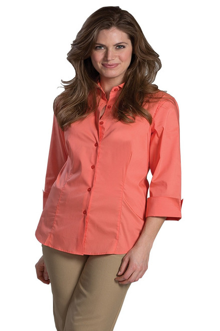Coral Stretch Blouse
