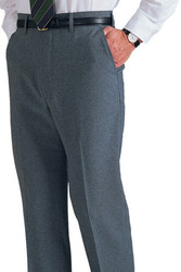 Men's Poly Flat Front Pants