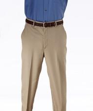 Men's Microfiber Flat Front Pants