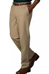 Men's Easy Fit Flat Front Chino Pants