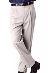 Men's Pleated Business Casual Chino Pants