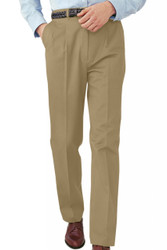 Men's Pleated All-Cotton Pants