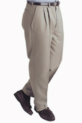 Men's Microfiber Pleated Pants
